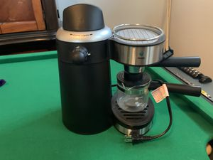 Espresso Coffee Maker with attached milk frother for Sale in Cedar Park, TX