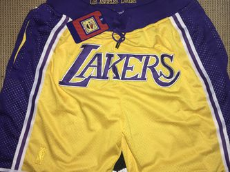 Mens Mitchell & Ness x Just Don Los Angeles Lakers Shorts Sz XL 1996-97 New With Tags for Sale in West Sacramento,  CA