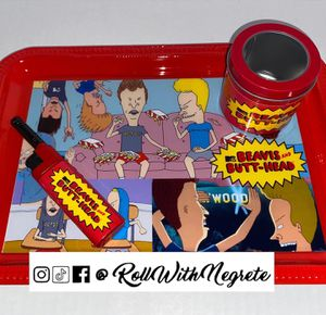 Beavis and Butt-Head Rolling Tray Set for Sale in Fort Worth, TX