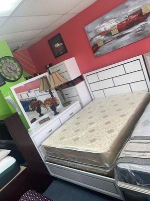 New full bedroom set for $799 for Sale in Richardson, TX