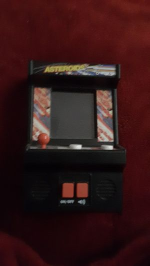 Hand size asteroids arcade game for Sale in Glendale, AZ