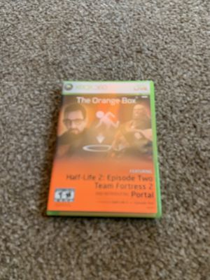 Xbox 360 orange box 4 games in one for Sale in Portland, OR