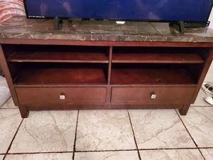 Tv stand with marble top $70 for Sale in Ontario, CA