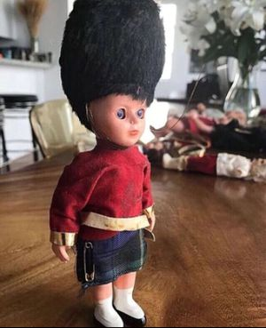 Vintage English Buckingham Palace Guard Doll Hat Collectible Antique Toy for Sale in Miami Gardens, FL