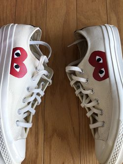 Cdg Converse Mens 8/woman 10 for Sale in Schaumburg,  IL