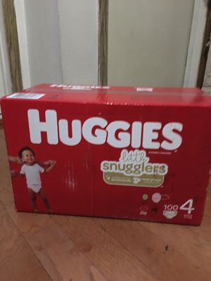 HUGGIES SIZE 4 100 pañales for Sale in Long Beach, CA