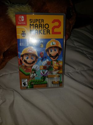 Super Mario maker 2 for the Nintendo switch for Sale in Ontario, CA