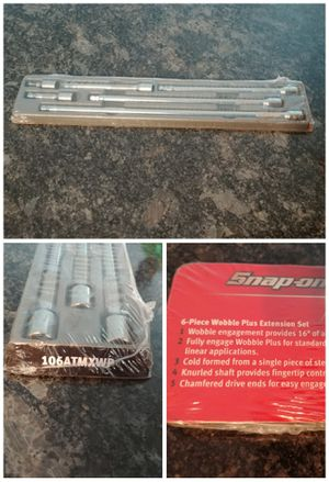 """Snap-on Tools 1/4"""" Drive wobble plus extension set for Sale in Romeoville, IL"""