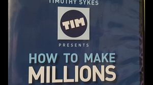 Timothy Sykes How To Make Millions DVD for Sale in Brooklyn, NY