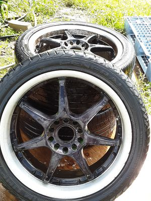 18 inch universal wheels & tire for Sale in Owatonna, MN