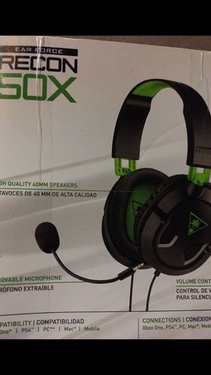 Recon 50x xbox one headset ps4 pc turtle beach for Sale in Middletown, MD