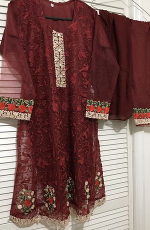 Net embroidery dress for Sale in Jersey City, NJ