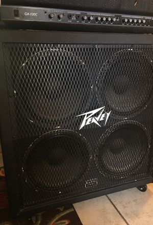 Peavey guitar cabinet PRICE DROP! for Sale in Lehigh Acres, FL
