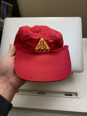 NIKE ACG Five Panel Hat - Pink/Yellow for Sale in Seattle, WA