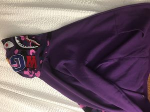 purple Bape hoodie for Sale in Frederick, MD