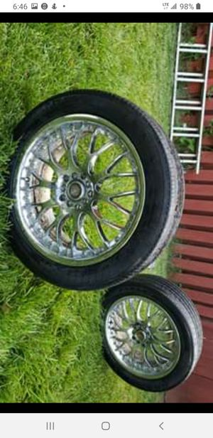 Drag tires and rims for Sale in Herndon, VA