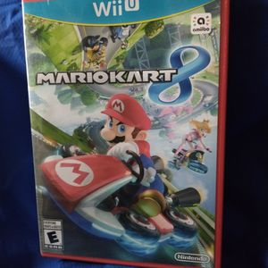 MARIO KART 8 NINTENDO Wii U for Sale in Brownwood, TX