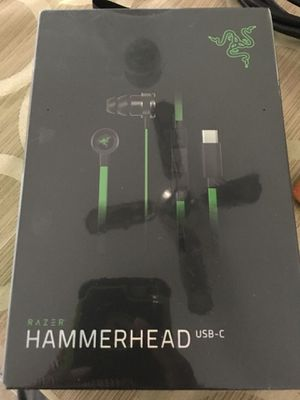 RAZER Hammerhead USB-C Headphones (Sealed-Brand New) for Sale in Manchester, MO