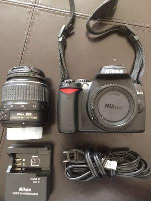 Nikon D40 DSLR - $175 for Sale in Ashburn, VA