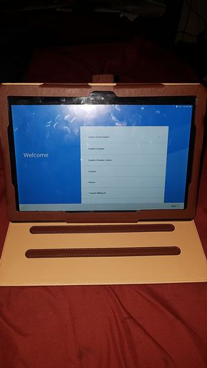 LENOVo tablet powered by android for Sale in Lodi, CA