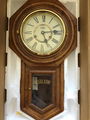 Classic Schoolhouse Wall Clock for Sale in Sterling, VA