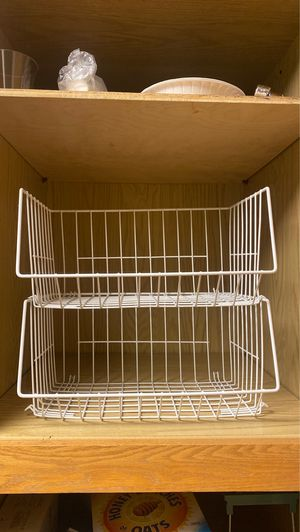 Kitchen cabinet organizers racks for Sale in Kent, WA