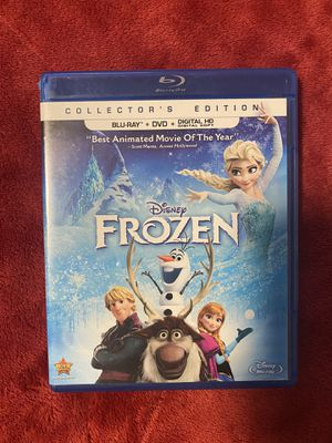 Frozen Blu Ray + DVD for Sale in Vancouver, WA