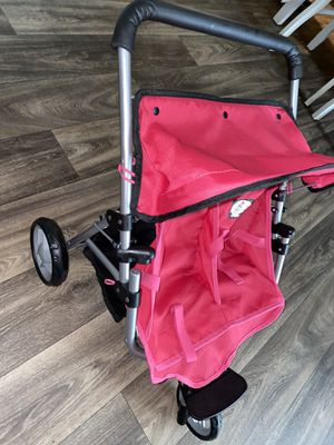 Doll stroller and shopping car for Sale in Escondido, CA