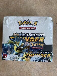 Pokemon TCG: Sun & Moon Lost Thunder Booster Box (Pack of 36) for Sale in Orlando, FL