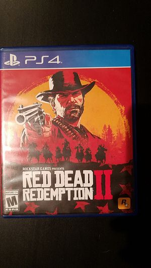 Red Dead Redemption 2 PS4 for Sale in Denver, CO