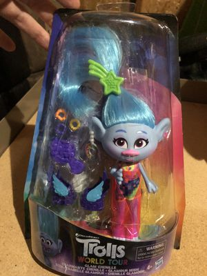 Trolls world tour doll for Sale in Tigard, OR