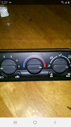 2001 GMC Yukon new climate control unit . I bought it and I wasn't nothing wrong with mine. So I can't return it because of it is a electrical device for Sale in PUEBLO DEP AC, CO