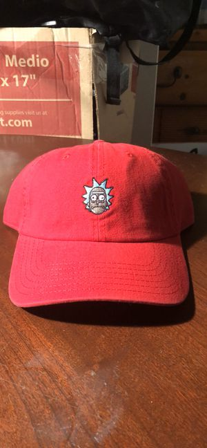 Rick And Morty red baseball dad hat cap new for Sale in Mesquite, TX