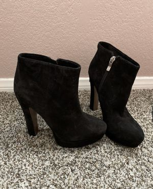 Cute black heels boots for Sale in Lake Elsinore, CA