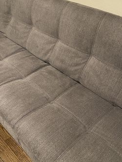 Grey Futon Couch/Bed for Sale in Hayward,  CA