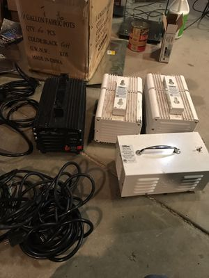 Grow lights, bulbs & ballasts with cords for Sale in Golden, CO