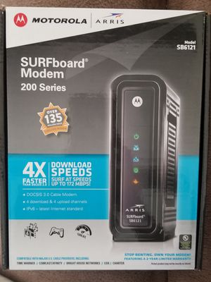 Arris SURFboard DOCSIS 3.0 Cable Modem for Sale in Half Moon Bay, CA