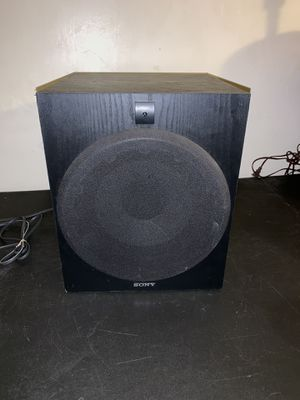 Sony 10 Inch Subwoofer for Sale in West Valley City, UT