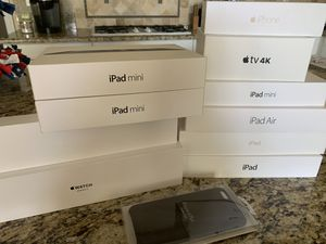 Apple Devices - BOX ONLY for Sale in San Juan Capistrano, CA