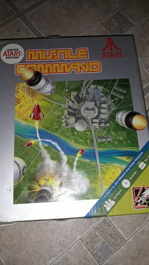 Missile command board game for Sale in Chelsea, MA