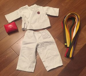 American Girl Doll Martial Arts Suit for Sale in Chicago, IL
