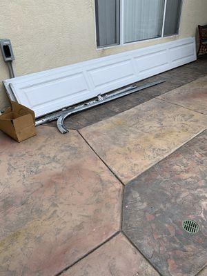Garage door no windows including hardware for Sale in Chula Vista, CA
