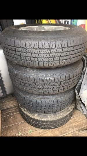 Jeep Cherokee wheels 225/75R15 for Sale in North Highlands, CA