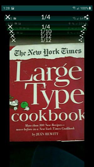 CA. Large Type THE NEW YORK TIMES COOKBOOK. 1968 for Sale in San Bernardino, CA
