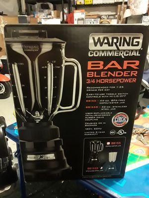 WARING COMERCIAL BAR BLENDER BLACK ENAMEL BASE 32 oz for Sale in Compton, CA