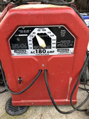 Lincoln Arc Welder for Sale in Patterson, CA