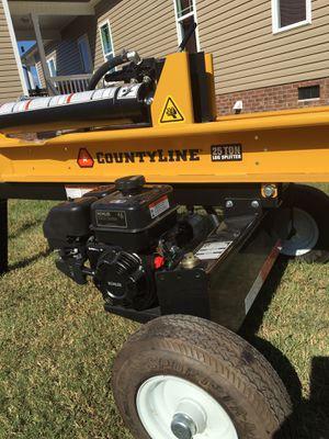 County line 25 Ton Log Splitter for Sale in Benson, NC