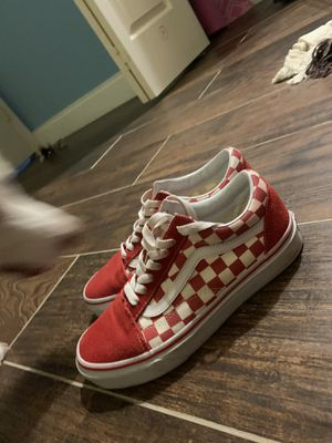 red checkered vans for Sale in Hewitt, TX