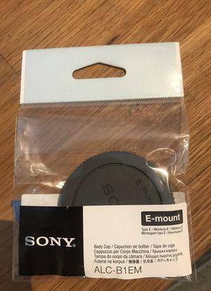 Sony Body Cap for Sale in Fairfax Station, VA