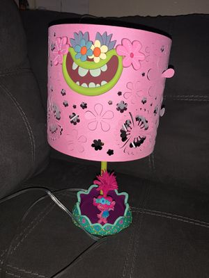 Trolls lamp for Sale in Irving, TX